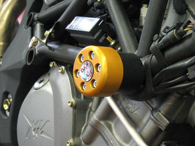 緩衝型引擎保護塊(防倒球) X-Pad (長)