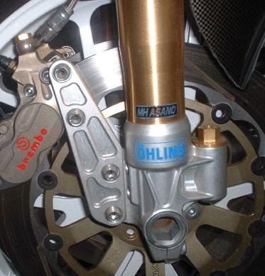 320mmΦBrembo卡鉗座(OHLINS正立式前叉改裝專用)