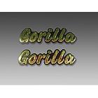 【MINIMOTO】GORILLA油箱用立體字左右一組