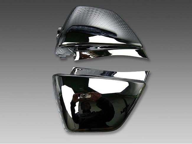 【MINIMOTO】APE 50・100側蓋 左右組套 鍍鉻 - 「Webike-摩托百貨」