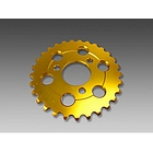 MINIMOTO MONKEY 28T Duralumin Sprocket Gold