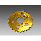 MINIMOTO MONKEY 29T Duralumin Sprocket Gold