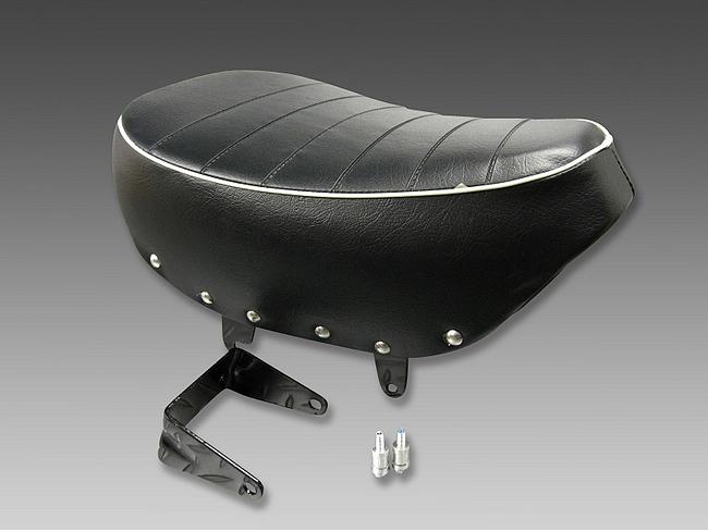 【MINIMOTO】MonkeyFI型坐墊 黑色白色 - 「Webike-摩托百貨」