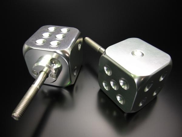 Minimoto The骰子鋁合金製把手旋鈕