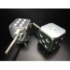 【MINIMOTO】Minimoto The骰子鋁合金製把手旋鈕