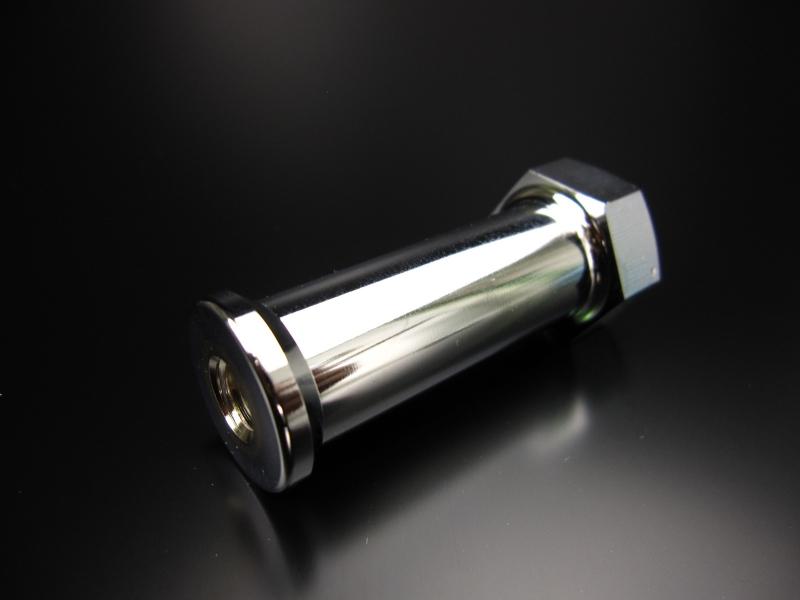 Monkey鋁合金製55mm延長排氣管支架