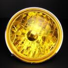 【MINIMOTO】CUB 多重反射頭燈 (黃色)