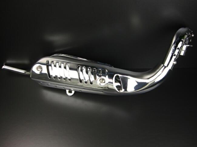 MONKEY 普通型 電鍍全段排氣管 C型