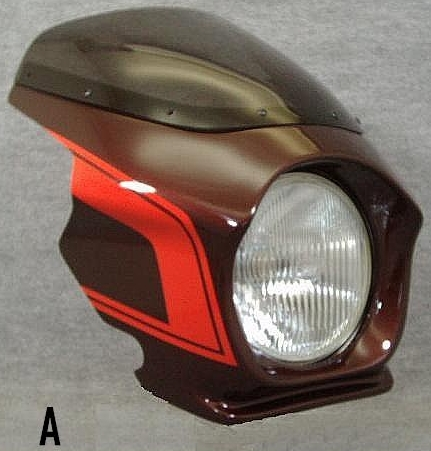 頭燈整流罩 Design A