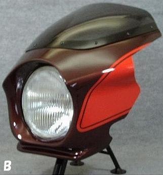 頭燈整流罩 Design B (最終版塗裝規格)
