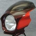 【MOTO ZOOM】頭燈整流罩 Design B (最終版塗裝規格)