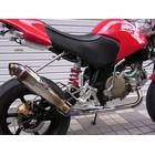 【水本Racing】12.MSR 全段排氣管 無燒色