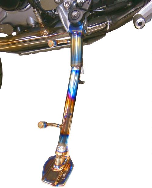鈦合金加高型側駐 雙桿型