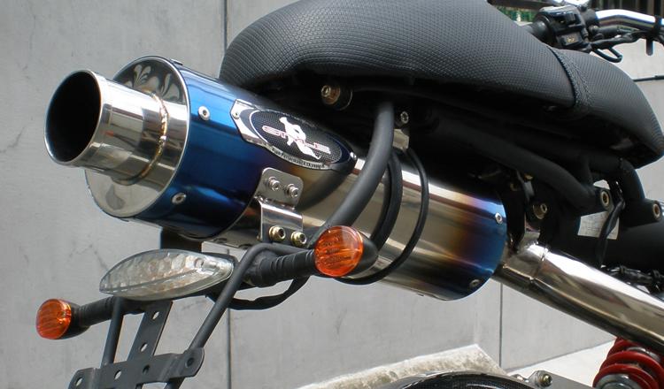 SPIDER125 Real Python 全段排氣管