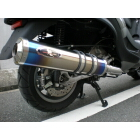 【R-style】PIAGGIO MP3 250 RL/FL Dragunova 全段排氣管