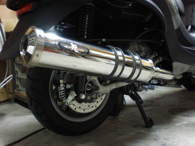 PIAGGIO MP3 250 RL/FL Dragunova 全段排氣管