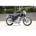 【KOTANI MOTORS】SR400用 BLITZ 全段排氣管 Megaphone 全不銹鋼 噴射車用