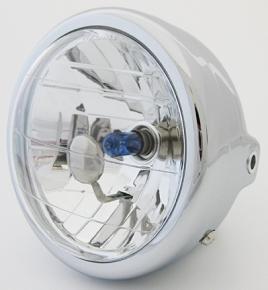 130Φ Mini Bike用 晶鑽型頭燈