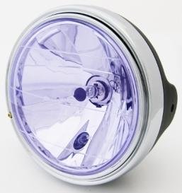 180Φ 藍色晶鑽型頭燈