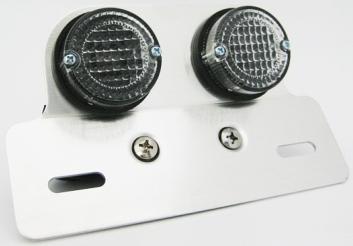 圓型雙尾燈