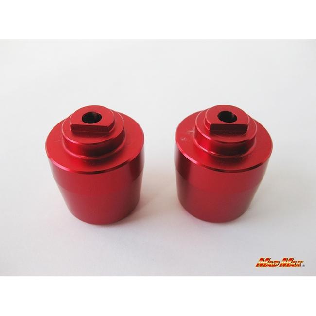 【MADMAX】鋁合金平衡端子 紅色 CBR250R用 - 「Webike-摩托百貨」