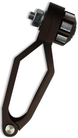 PANOM製 鋁合金煞車油管固定夾