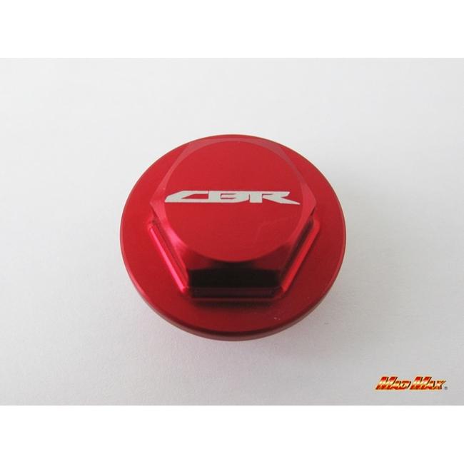 【MADMAX】鋁合金製機油注油塞 (紅色) CBR250R用 - 「Webike-摩托百貨」