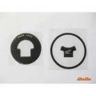 MADMAX Tank cap cover Carbon look For CBR 250 R