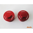 【MADMAX】前叉上蓋  /紅色  CBR250R用