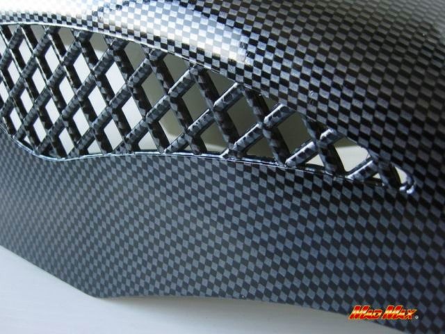 【MADMAX】通用型 Mesh 碳纖維前土除 (平織) - 「Webike-摩托百貨」