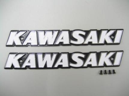 kawasaki 油箱LOGO貼( 大字)