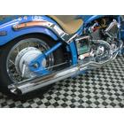 【KENTEC】Low-rider 2IN1 全段排氣管 90Φ