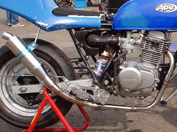 【Racing Shop Yokota】RSY SP100 全段排氣管:APE 100 (HC07)用 - 「Webike-摩托百貨」