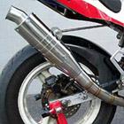 【Racing Shop Yokota】RSY GP100 全段排氣管・音量對策:NSF100(HR01)