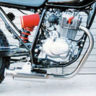 【Racing Shop Yokota】RSY Beauty 不銹鋼全段排氣管・含觸媒轉換器:FTR223(MC34)用
