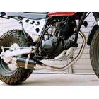 【Racing Shop Yokota】RSY Beauty 短黑色碳纖維全段排氣管・含觸媒轉換器:CB223S (MC40)用