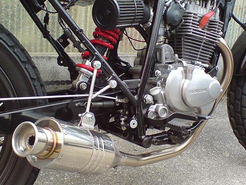 RSY Beauty 短不銹鋼全段排氣管・含觸媒轉換器:CB223S (MC40)用