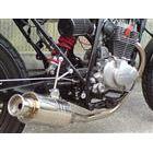 【Racing Shop Yokota】RSY Beauty 短不銹鋼全段排氣管・含觸媒轉換器:CB223S (MC40)用