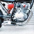 【Racing Shop Yokota】RSY Beauty 不銹鋼全段排氣管・含觸媒轉換器:CB223S (MC40)用