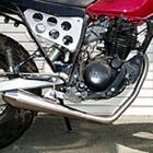 【Racing Shop Yokota】RSY Beauty Megaphone 全段排氣管:TW200 (2JL)用