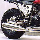 【Racing Shop Yokota】RSY Beauty L 不銹鋼全段排氣管:TW200E (DG07J)用