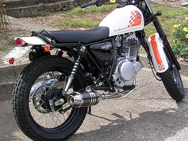 【Racing Shop Yokota】RSY Beauty 短黑色碳纖維全段排氣管・含觸媒轉換器:GRASS TRACKER (NJ4DA)用 - 「Webike-摩托百貨」