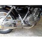 【Racing Shop Yokota】RSY Beauty 短不銹鋼全段排氣管:ST250 (NJ4AA・化油器)用