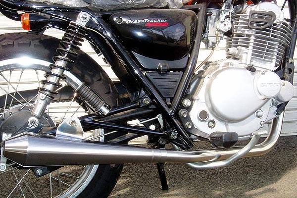 【Racing Shop Yokota】RSY Beauty Megaphone 全段排氣管:ST250 (NJ4AA・化油器)用 - 「Webike-摩托百貨」