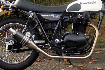 【Racing Shop Yokota】RSY Beauty 短黑色碳纖維全段排氣管:250TR (噴射供油)用 - 「Webike-摩托百貨」