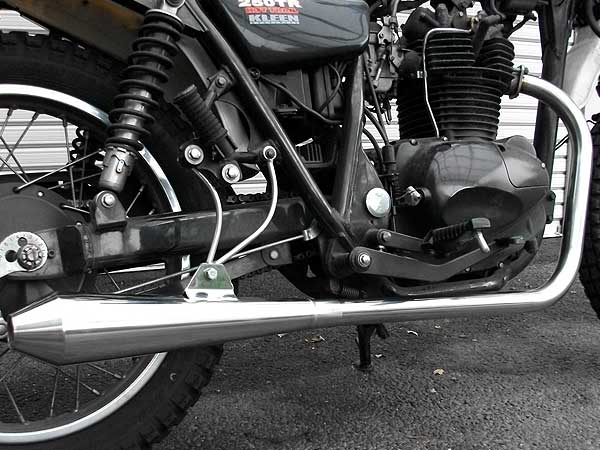 【Racing Shop Yokota】RSY Beauty Megaphone Down 全段排氣管・含觸媒轉換器:250TR (噴射供油)用 - 「Webike-摩托百貨」