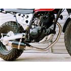 【Racing Shop Yokota】RSY Beauty 短黑色碳纖維全段排氣管:SUPER SHERPA (KL250G)用