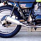【Racing Shop Yokota】RSY Super Trapp 4吋鋁合金全段排氣管:ESTRELLA (BJ250A・化油器)用