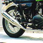【Racing Shop Yokota】RSY Beauty L 不銹鋼全段排氣管:ESTRELLA (BJ250A・化油器)用