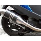 【Racing Shop Yokota】RSY Spider 黑色碳纖維全段排氣管:CREA SCOOPY (AF55)用